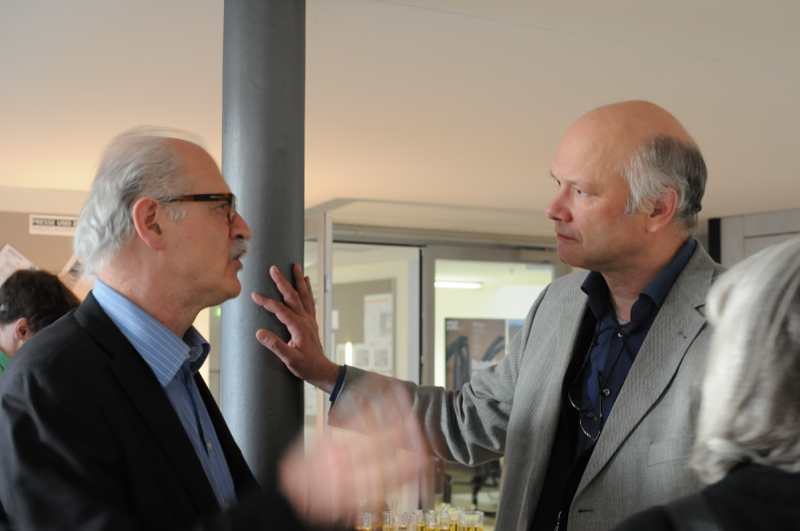 Prof. Marco Pogacnik (The Formwork) with Juerg Conzett (Chur)